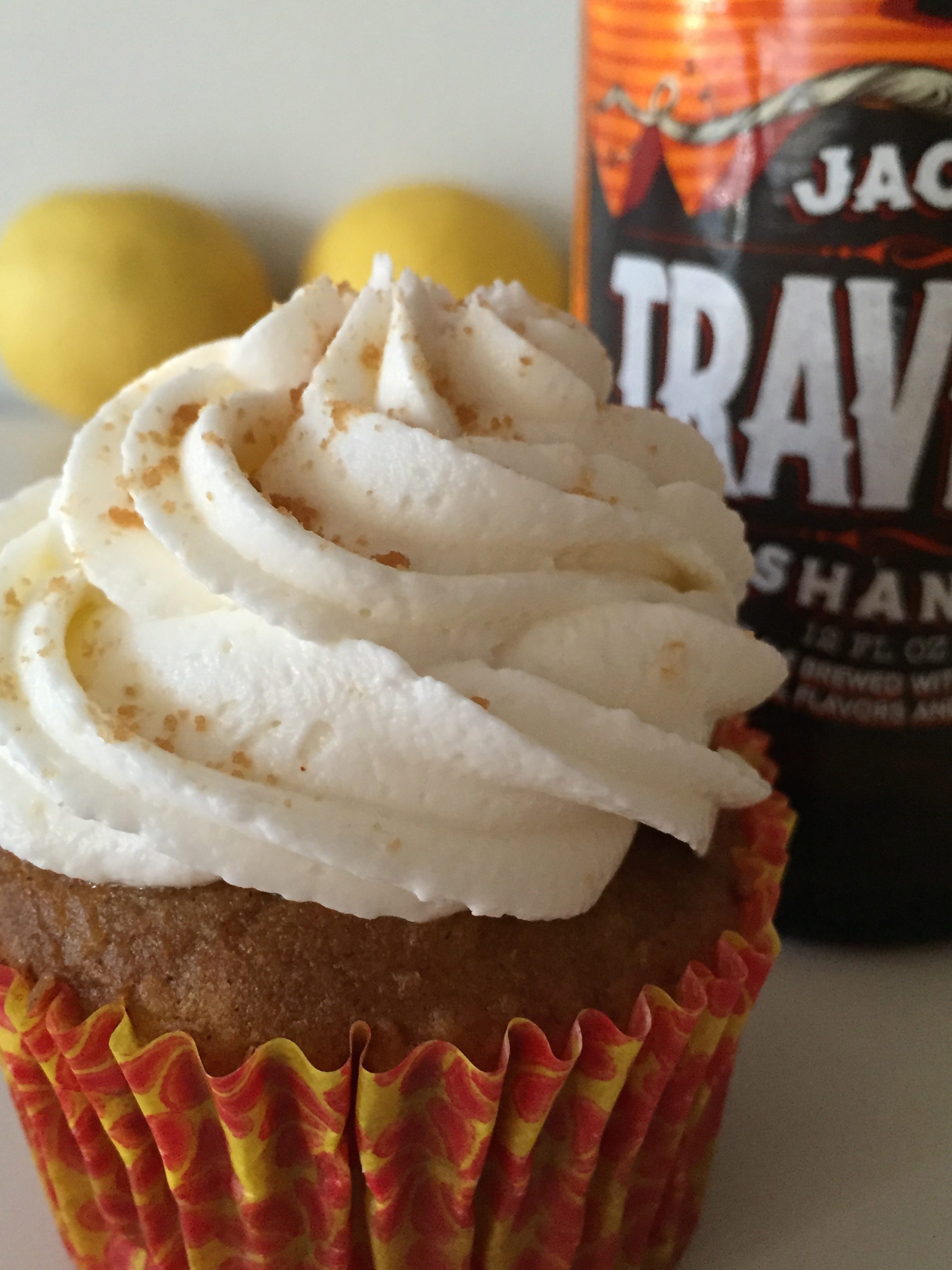 Pumpkin Shandy Cupcakes with Ginger Limoncello Buttercream ...
